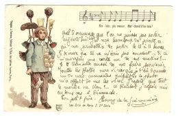 PARIS - Les Cris De Paris 2. 2e Série - Marchand De Balais - Broom Seller - Ed. J. Gerson, Paris - Petits Métiers à Paris