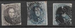 T 00551 - Belgique 1849-50, à Identifier. - Belgique