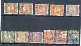 Nederlands Indië 1922 Jaarbeurs Bandoeng  (nvph 149-159) Gebruikt - Nederlands-Indië