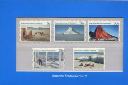 AUSTRALIAN ANTARCTIC TERRITORY 1984  POSTFRIS MINT YVERT 63 64 65 66 67 - Territoire Antarctique Australien (AAT)