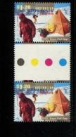 AUSTRALIAN ANTARCTIC TERRITORY 1997  POSTFRIS MINT YVERT 114 GUTTER PAIR - Territoire Antarctique Australien (AAT)