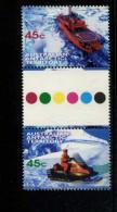 AUSTRALIAN ANTARCTIC TERRITORY 1998  POSTFRIS MINT YVERT 115 GUTTER PAIR - Territoire Antarctique Australien (AAT)