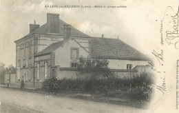 45 - AILLANT Sur MILLERON - Mairie - Groupe Scolaire - France