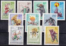 Hongrie 1965 N° Y&T :  1744  à 1753 ** - Ongebruikt