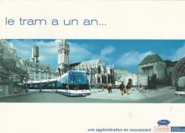 TRAM DE CAEN 2003 - Cartoline