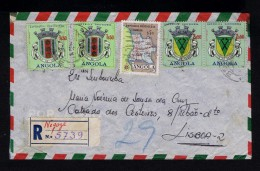 ANGOLA Cover 1964 NEGAGE Brasons Coat Of Arms Maps Portugal #9649 - Angola