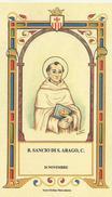 SANTINO ORDINE MERCEDARIO N.439 B.SANCIO DI S.ARAGO C. FESTA IL 26 NOVEMBRE - Images Religieuses