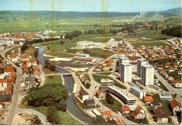 Pontarlier. Les Nouveaux Quartiers; Piscine Couverte Ey Lycée. - Pontarlier