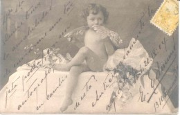 ANGEL ANGELES E. EDMUND LE ENVIA ESTA POSTAL EN SETIEMBRE DE 1904 A LA ARISTOCRATA SARAH ADELINA CORDOBA REYNAL  EN BAHI - Engelen
