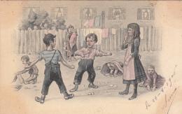Clément Tournier & Cie, Précurseur, Enfants, Jeux... 1906, Colorisée, Animée - Illustrators & Photographers