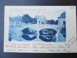 AK LANGENLOIS 1899 /// D*20910 - Langenlois
