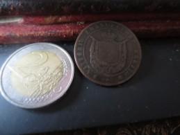ITALIE - TOSCANA- 5 CENTESIMI-1859-  VOIR PHOTOS - Monnaies Régionales