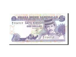 BRUNEI, 1 Ringgit, 1989, KM:13a, Undated, NEUF - Brunei