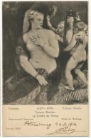 Nude Woman With Cupids La Toilette De Venus Nue Russian Card Red Cross St Petersburg Croix Rouge - Russia