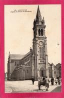 61 ORNE ALENçON, Eglise St-Pierre De Montsort, Animée, Charette, (Arecole, Nantes) - Alencon
