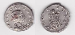 JULIA MAESA +225 DENIER R/ LLa Pudeur 2,93gr (voir Scan) - 4. Les Sévères (193 à 235)