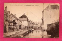 21 COTE-D'OR IS-SUR-TILLE, Rue Hôpital-Nicolas, Le Bief, Animée, (Bardet, A. Breger) - Is Sur Tille