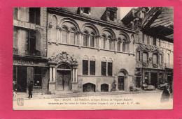 21 COTE-D'OR DIJON, Le Présidial, Antique Maison De Hugues Aubriot, Animée, 1927, (L. V.) - Dijon