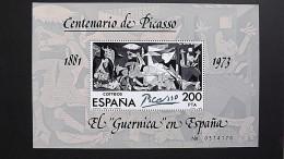 Spanien 2520 Block 23 **/mnh, Guernica; Gemälde Von Pablo Picasso (1881-1973) - Blocks & Kleinbögen