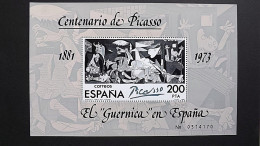 Spanien 2520 Block 23 **/mnh, Guernica; Gemälde Von Pablo Picasso (1881-1973) - Blocks & Sheetlets & Panes
