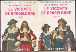 Alexandre Dumas - Le Vicomte De Bragelonne ( Tomes I & II )  - Bibliothèque De La Jeunesse - ( 1951 ) . - Bücher, Zeitschriften, Comics
