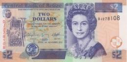 (B0282) BELIZE, 2011. 2 Dollars. P-66d. UNC - Belize