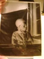 PLAQUE DE VERRE PHOTO SOLDAT BLESSE 1914-1918 (LOT Na18) - Diapositiva Su Vetro