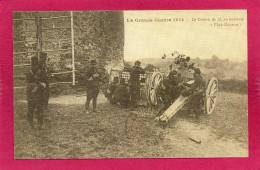 Grande Guerre, Le Canon De 75, En Batterie, Animée, (Phot-Express) - Guerre 1914-18