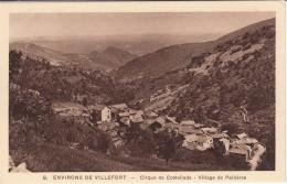 G , Cp , 48 , VILLEFORT , Environs , Cirque De Costeillade , Village De Palhères - Villefort