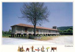 1 AK Spanien * Combarro Mit Dem Zweitgrößten Getreidespeicher In Galicien * - Espagne