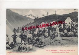05- 04- COL DU PARPAILLON - L' HEURE DE LA SOUPE DANS UN CAMPEMENT DE CHASSEURS ALPINS - EDITEUR LAMBERT A GAP - France