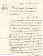 1821 - Perpignan (66) L.A.S. TASTU, IMPRIMEUR Du ROI, De S.A.R. Mgr Le Duc D´ANGOULÊME à Son Fabricant De PAPIER - Historical Documents
