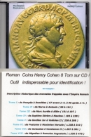 MONNAIES  ROMAINES  En  8 TOMES  ** H. COHEN** De Pompée à Romulus Augustule - Français - 1. Les Julio-Claudiens (-27 à 69)