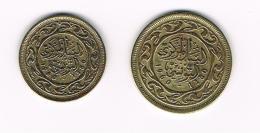 °°° TUNESIE  10  En 20  MILLIM  1960 - 1380 - Tunisie