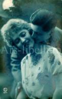 Postkaart / Postcard / CPA / Couple / Romantique / Love / Ed. P.C. Paris No 1077 / 1923 - Couples