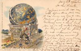 75-PARIS- EXPOSITION 1900, LE GLOBE CELESTE - Expositions