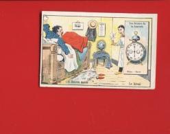 Breteuil Sur Iton Département De EURE Delaporte Clain Magasin La Providence Thème Temps Réveil Hôtel - Trade Cards