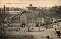 CPA Espagne Barcelona - Mercado De S. Antonio (282487) - Barcelona
