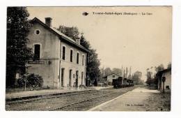 DORDOGNE  /  TOCANE-SAINT-APRE  /  LA  GARE  ( Avec Train Et Locomotive ) /  Edit.  A. BOUCHAUD - Autres Communes
