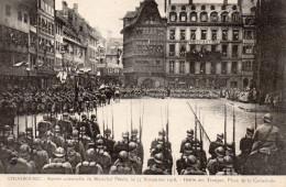 5915. CPA 67 STRASBOURG GUERRE 14 18 WW1. 1918. ENTREE SOLENNELLE DU MARECHAL PETAIN. DEFILE DES TROUPES. - Strasbourg