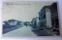 POGGIO RUSCO – VIALE VIRGILIO (CASE OPERAIE) – VIAGGIATA 1930 – (1663) - Altre Città