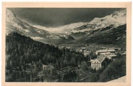 BRIANCON - Vue De La Ville Sur Sainte-Catherine Et La Vallée De La Durance - Ed. Maurice, Briançon - Briancon