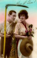 Postkaart / Postcard / CPA / Couple / Romantique / Love / Ed. SAR No 5309 / 1918 - Paysans