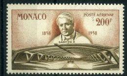 MONACO (  AERIEN ) : Y&T N°  70  TIMBRE  NEUF  SANS  TRACE  DE  CHARNIERE , A  VOIR .