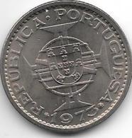 *guinea Bissau 5 Escudos 1973  Km 15  Unc !!! - Guinea-Bissau