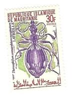 Timbre Neuf Mauritanie Coleoptere Insecte Coleopter Insect Insekten Käfer Yvert 279 ** Mnh Postfrich Latreille 30 - Ohne Zuordnung