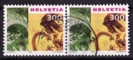 SCHWEIZ Mi. Nr. 1745 O Waagrechtes Paar (A-2-25) - Switzerland