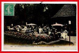 62 - Le TOUQUET - PARIS PLAGE --  Les Terrasses à L'heure Du Bains - Le Touquet