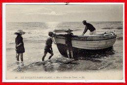 62 - Le TOUQUET - PARIS PLAGE --  Mise à L'eau Du Canot - Le Touquet