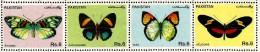 Pakistan - 1995 - Butterflies - Mint Stamp Set - Pakistán